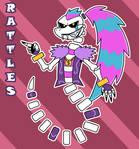 Rattles (Hartman style) - T.U.F.F. Puppy OC