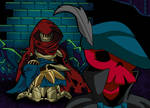 Grieving the past... - Shovel Knight by KingShovelton