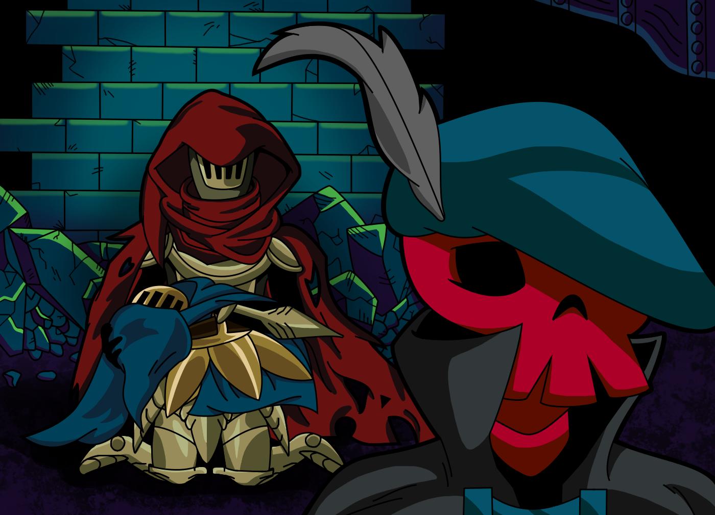 Grieving The Past Shovel Knight By Kingshovelton On Deviantart