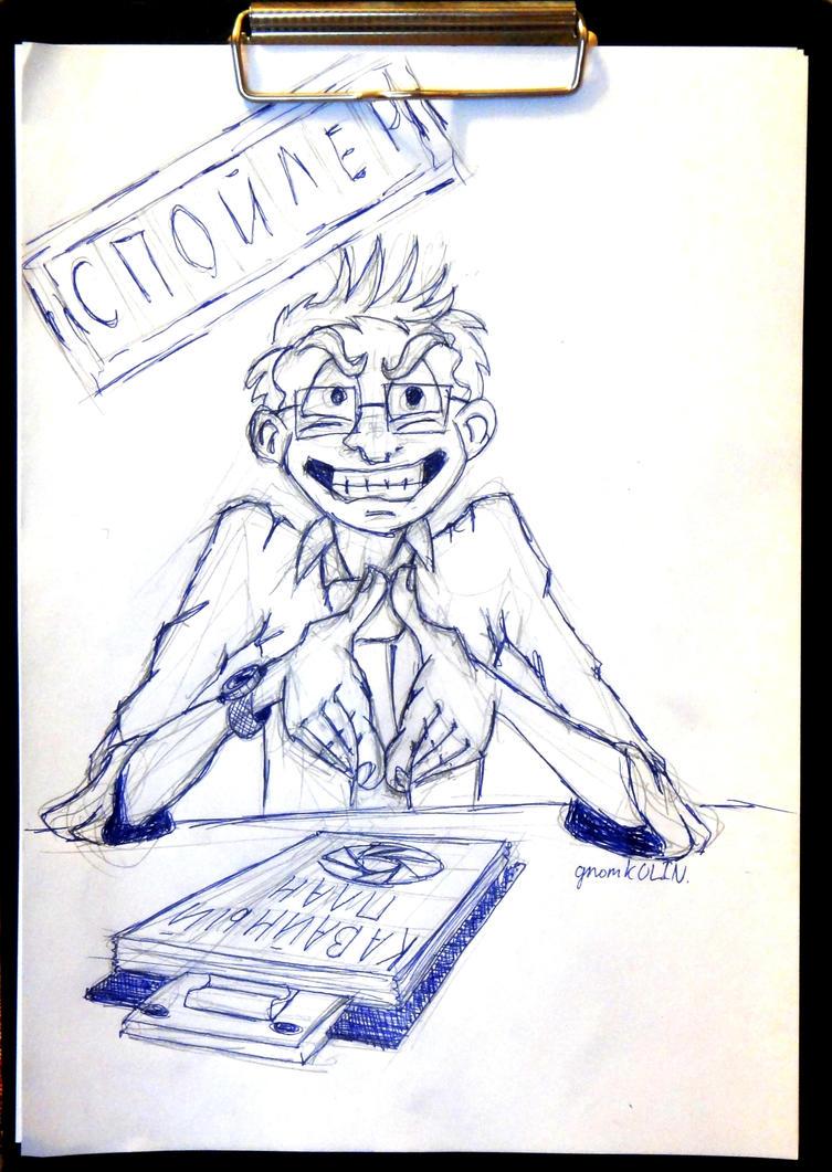 Evil Wheatley Human by gnomKOLIN on DeviantArt: gnomkolin.deviantart.com/art/Evil-Wheatley-Human-318168778