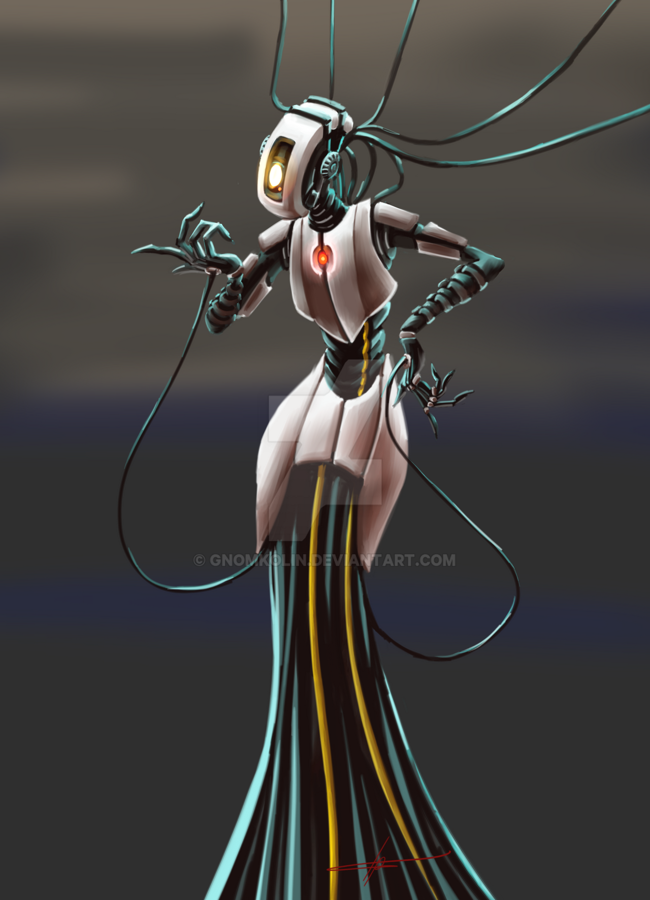 Glados costume concept by gnomKOLIN