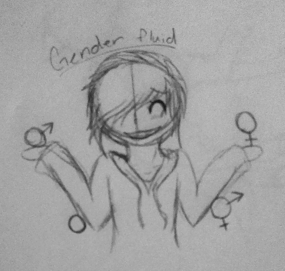 GenderFluid by mistyfoxheart
