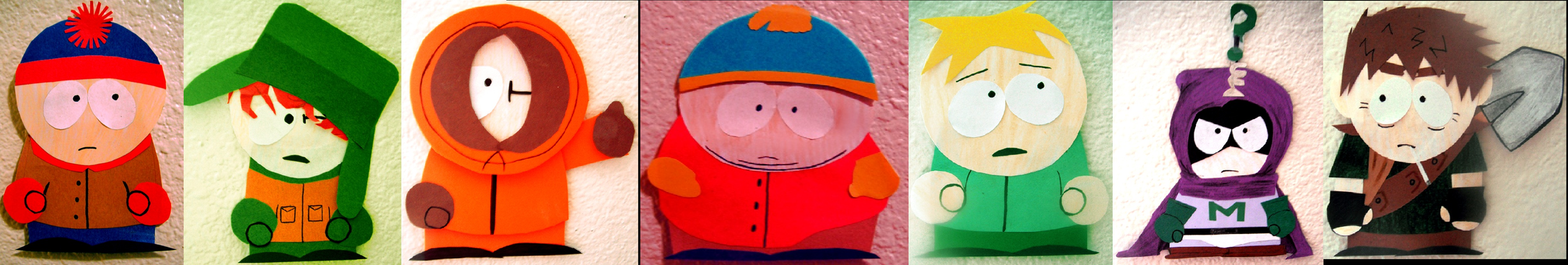 South Park Cut-Outs by CookiemonsterMS