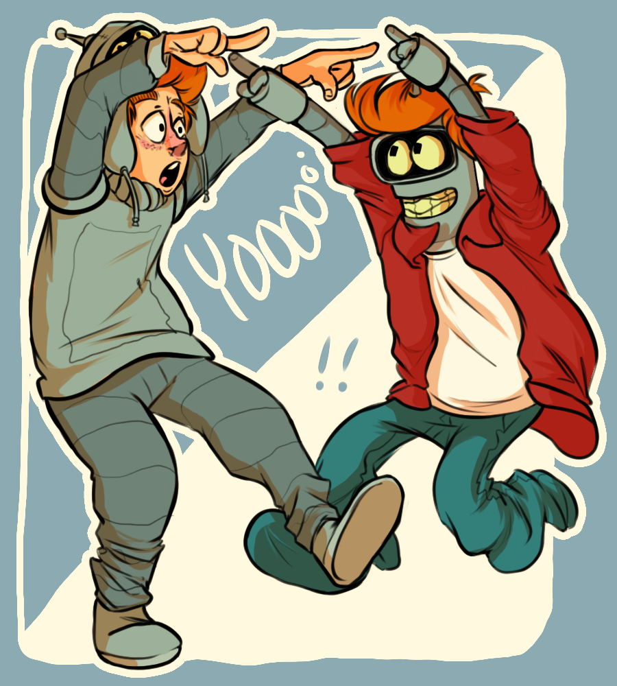 fry and bender relationship