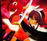 Fairy Tail: Erza Vs. Kagura - Is Time To Fight