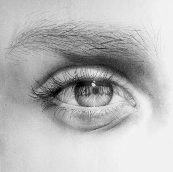 eye sketch  by noraslade