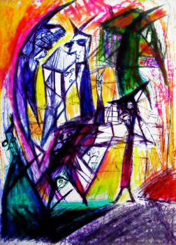 Abstract Plane of Mind