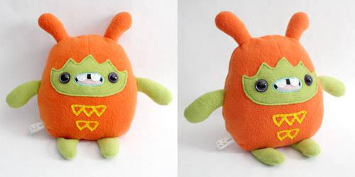 Teeto - Monchi Monster Plush by yumcha