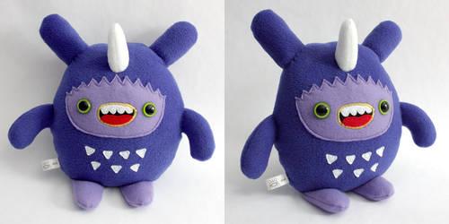 Dinki - Monchi Monster Plush by yumcha