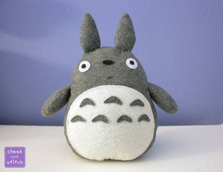 Totoro Plush with Tutorial