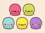 Taste the Moustache Octopus by yumcha