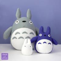 All three Totoros by yumcha