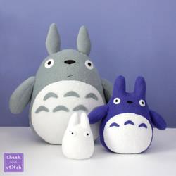 All three Totoros