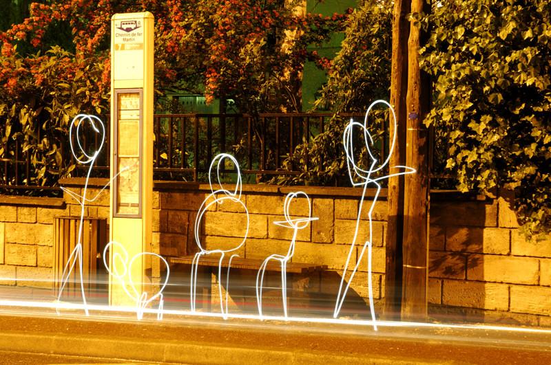 Bus Stop by christopherhibbert