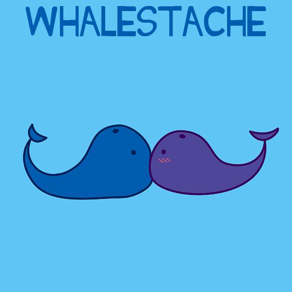 Whalestache by MedusaChan