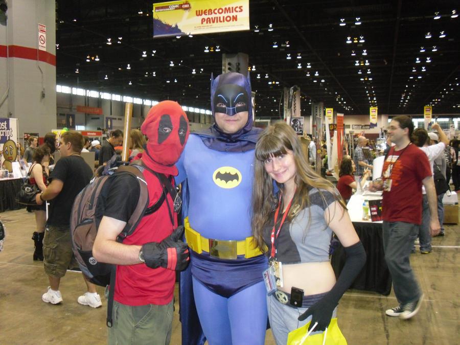 C2E2 4-15-12 Holy Amazing Photo opt! It's Batman by Darth-Slayer