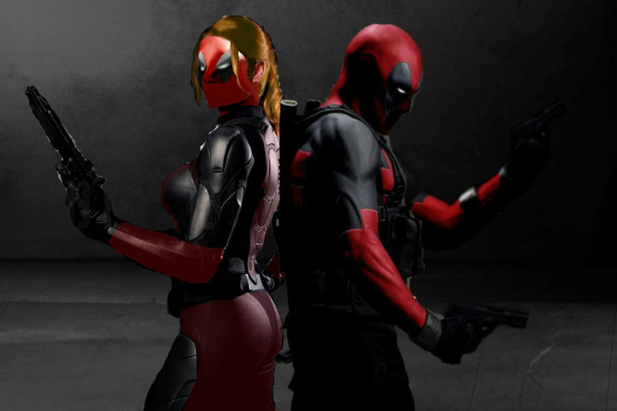 deadpool and lady deadpool fan made live action by darth
