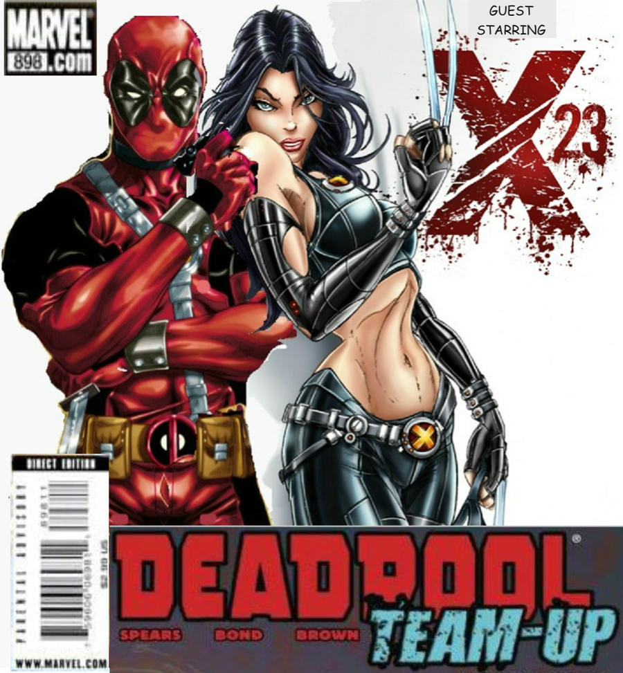 DEADPOOL AND X-23 TEAM UP COVER by Darth-Slayer