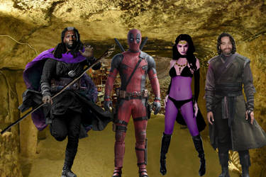 DEADPOOL LAST DAYS OF MAGIC (REAL LINE-UP) by Darth-Slayer