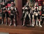 Bad batch custom action figures by Darth-Slayer