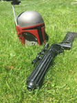 A new accessory  to my Mandalorian Costume by Darth-Slayer