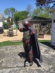 Drel Semaj Cosplay (with cape) 3 by Darth-Slayer