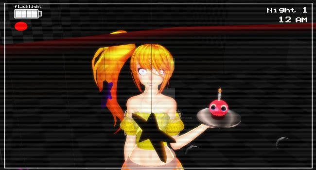 [MMD X FNAF] Toy Chica Finished! By AnimatronicToyBoonie