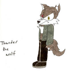 Thunder the Wolf by MidnightPrime by Soul-the-Mysterious