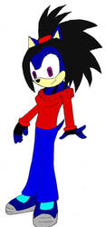 Midnight the Hedgehog by MidnightPrime by Soul-the-Mysterious