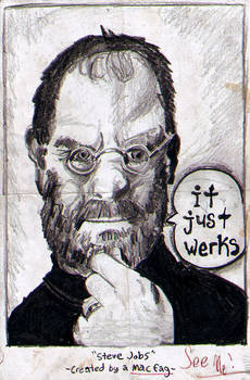 Steve Jobs - Portrait