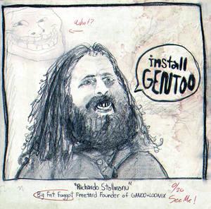Richardo 'Stallmanu' Stallman - Sketch Drawing