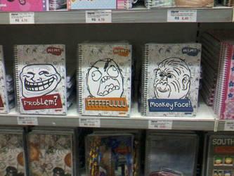 Le Monkey Face Notebook