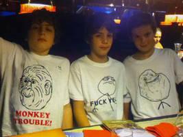 Le Monkey Trouble T-Shirt (for kids!)