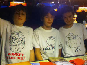 Le Monkey Trouble T-Shirt (for kids!)