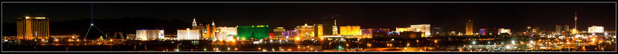 Las Vegas Strip by kittystalker