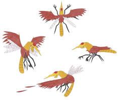 Stymphalian Bird by LeoDIlfKaiser