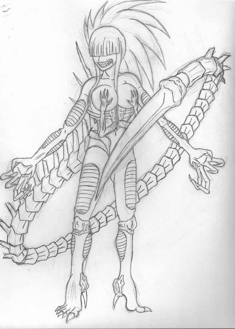 Bio-Girl by VenomX3000