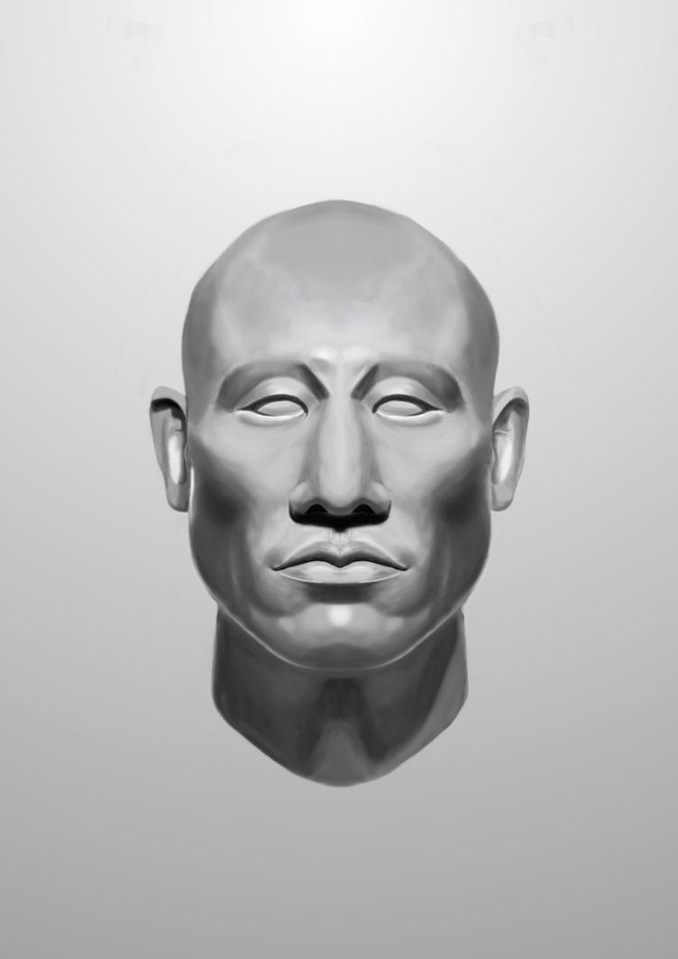 Asian Head by Yoxiharo