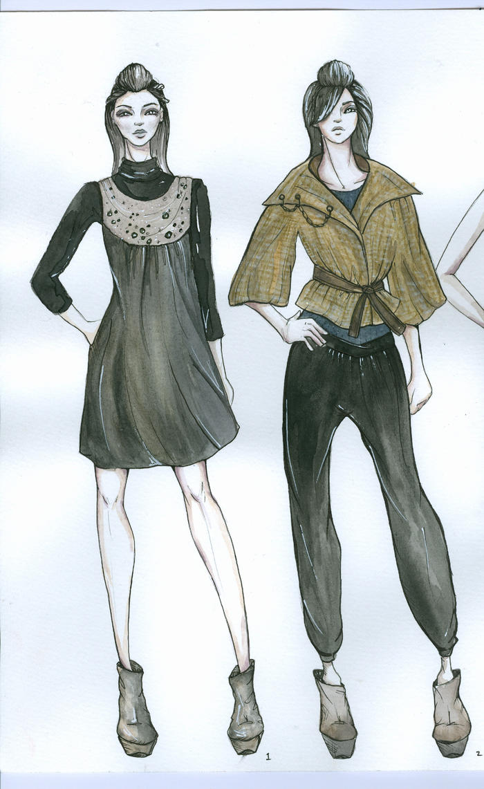 the gallery for gt fashion design sketches 2009