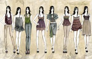 fashion line up by f0rbiddenl0ve