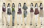 fashion line up