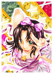 Tofu-chan colored by guu-chan