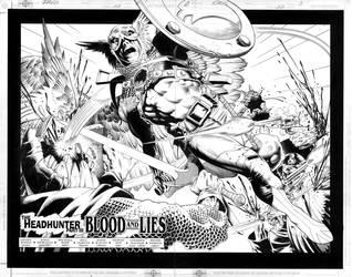 Hawkman No.22 pg. 2+3 by RagsMorales