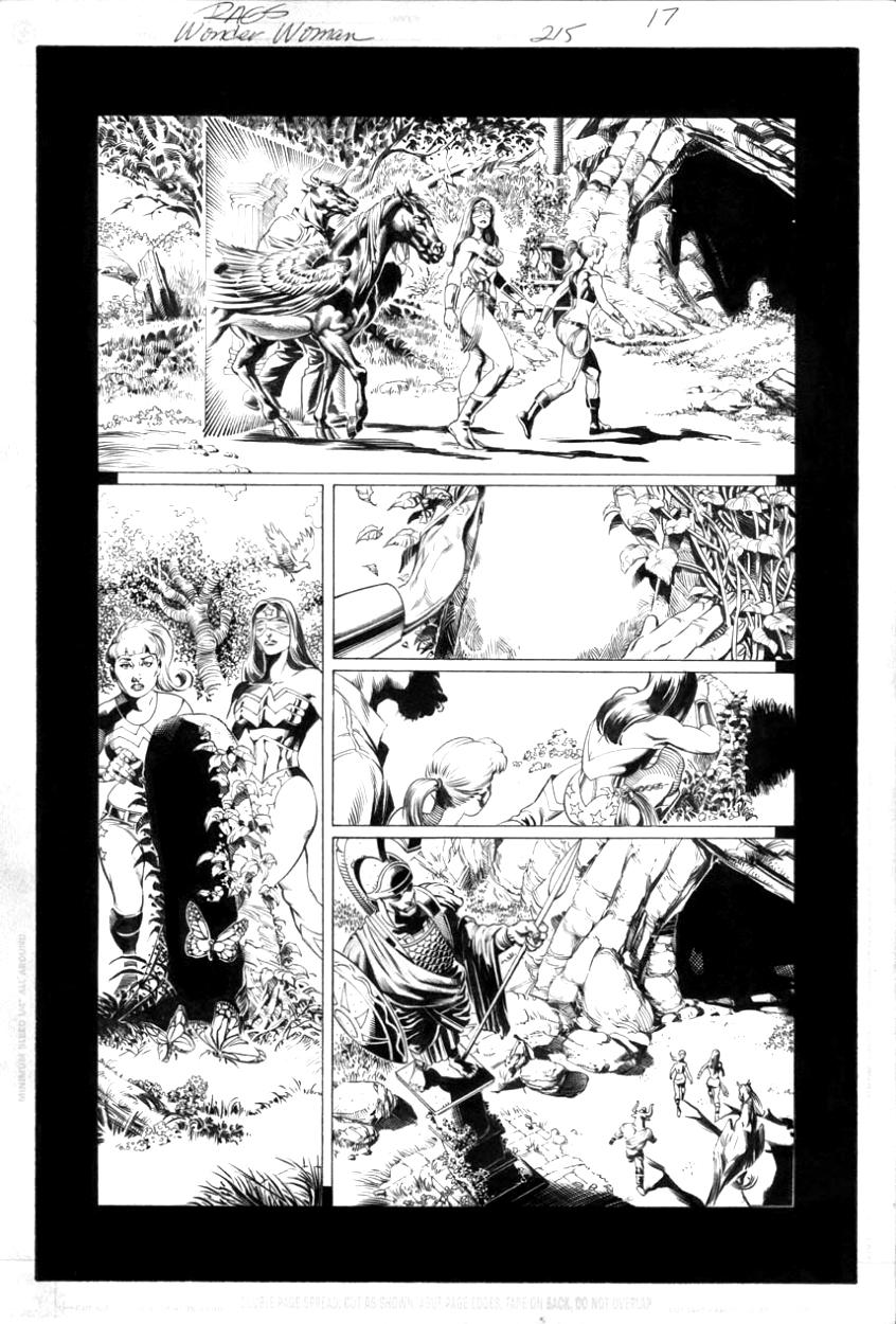 Wonder Woman No. 215 pg.17 by RagsMorales