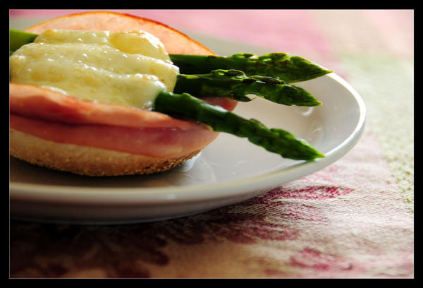 Asparagus and Brie by atalaya