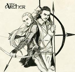 Legolas greenleaf and Bard the bowman