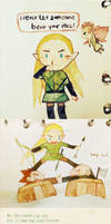 Legolas and others-sketch3