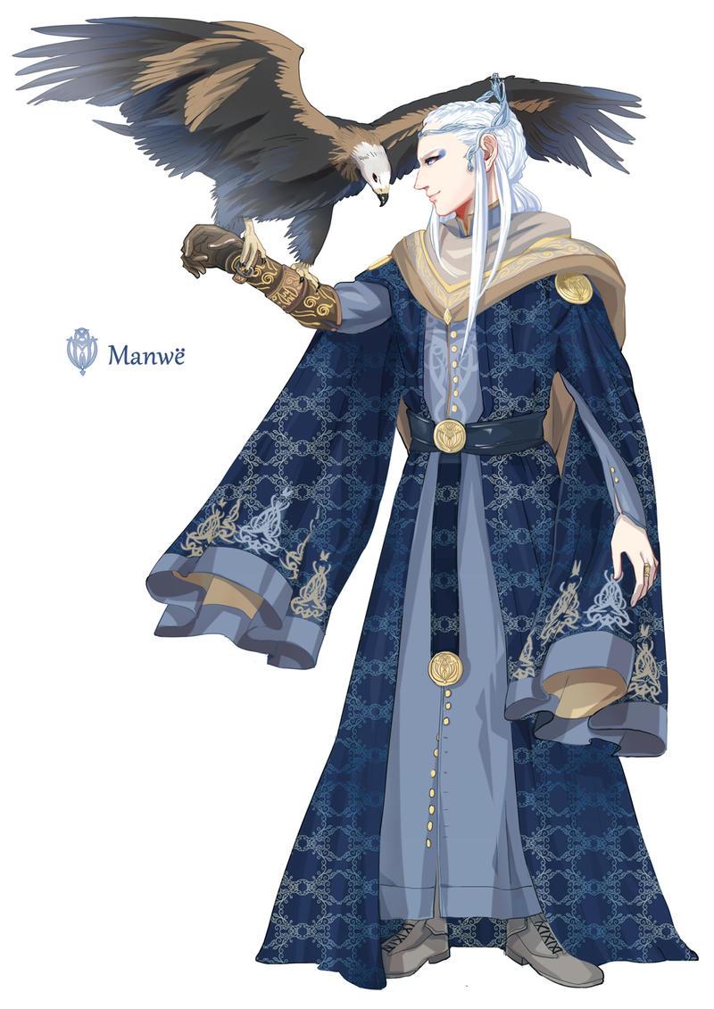 [the silmarillion-of Valar] Manwe by navy-locked on DeviantArt Manwe