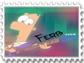 Ferb Fletcher :Stamp: by sabakunoozura
