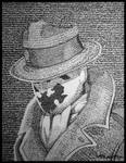 Rorschach by thechikwiththepencil